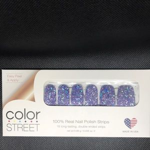 Color Street Glitter Nail Strips